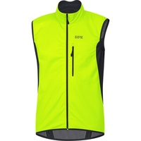 GORE WEAR C3 Gore Windstopper Weste neon yellow/black S