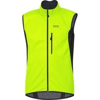 GORE WEAR C3 Gore Windstopper Weste neon yellow/black S