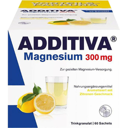 ADDITIVA Magnesium 300 mg N Pulver 60 St.
