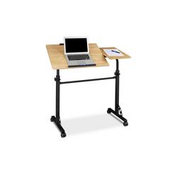 relaxdays Laptoptisch Laptoptisch groß Premium XXL gelb