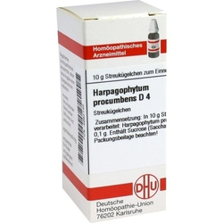 HARPAGOPHYTUM PROCUMBENS D 4 Globuli 10 g