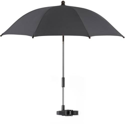 ShineSafe Kinderwagen-Sonnenschirm, schwarz