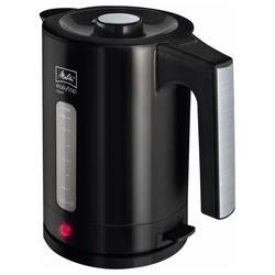 Melitta Wasserkocher 1016-04 Easy Aqua Top Wasserkocher schwarz/edelstahl, 1.7 l, 2400 W