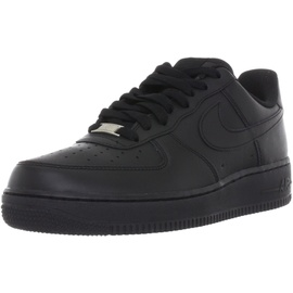 Nike Men's Air Force 1 '07 black/black 43