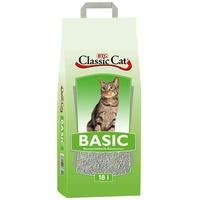 Classic Cat Basic Bentonit | 18 Liter Katzenstreu, Klumpstreu