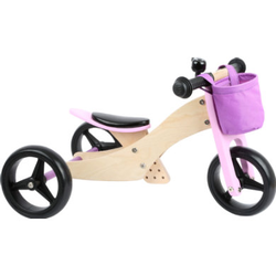 small foot® Laufrad-Trike 2 in 1 Rosa
