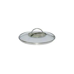 Kelomat Topfdeckel Glasgeschirrdeckel Torrano, (1-tlg), Glasdeckel Ø 24 cm