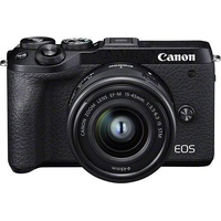 Canon EOS M6 Mark II + EF-M 15-45mm IS STM