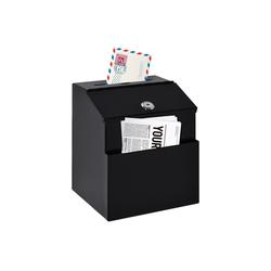 HOMCOM Briefkasten Briefkasten mit Zeitungsfach