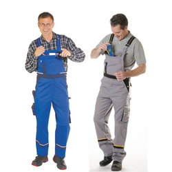 Arbeits-Latzhose, blau, Gr.48