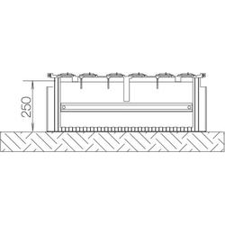 ABN Braun Festplatzsockel Gr.1 FB3 f.Bodenaufbau SX021F