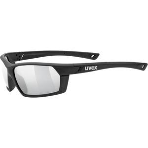 Uvex Sportstyle 225 black mat - litemirror silver