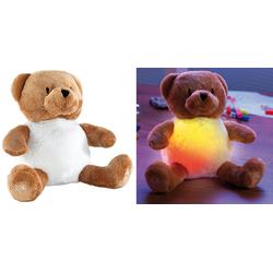 """Kuschel-Nachtlicht """"Bär"""" mit Farbwechsel-LED"""