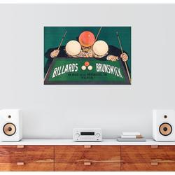 Posterlounge Wandbild, Billards Brunswick 60 cm x 40 cm