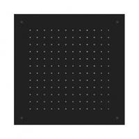 Herzbach DEEP BLACK Deckeneinbau-Regenbrause square 23.650000.2.12