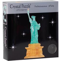 HCM KINZEL 3D-Puzzle Crystal Puzzle, Freiheitsstatue, 78 Puzzleteile
