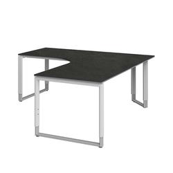Schreibtisch für Ecke höhenverstellbar
