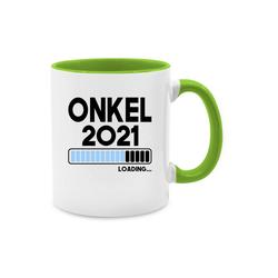 Shirtracer Tasse Onkel loading 2021 - Tasse für Onkel - Tasse zweifarbig - Tassen, onkel 2019 loading
