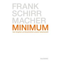 Minimum: eBook von Frank Schirrmacher