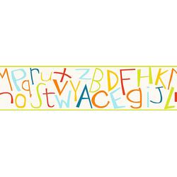 A.S. Création Bordüre Kids Style, glatt, mit Schrift, Kinderzimmer