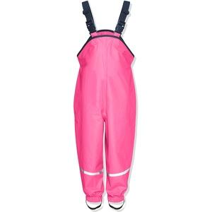 Playshoes Unisex Kinder Regenhose, Buddelhose, Matschhose, Rosa (Pink)Gr.74