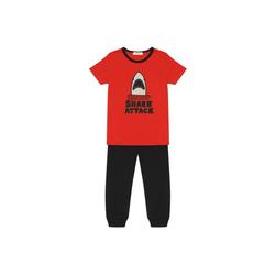 Panco Pyjama Pyjama - mit Haifischmotiv - für Jungen 128