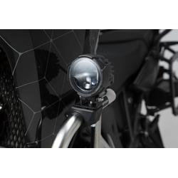 SW-Motech EVO grootlicht kit universeel - Zwart. Met crash bar klemmen voor verlichting.