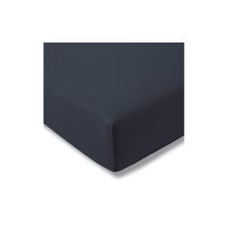 Estella Spannbettlaken Fein Jersey in indigo, 100 x 200 cm
