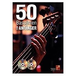 50 Basslinien für Anfänger - Bass Gitarre (Buch/CD/DVD). Matthias Junger  - Buch