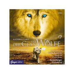 Kathryn Lasky - Der Clan der Wölfe 05: Knochenmagier (CD)