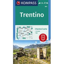 KV WK 683 Trentino 1:50 000