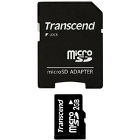 Transcend microSD 2GB + SD-Adapter