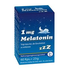 MELATONIN 1 mg Kapseln 60 St