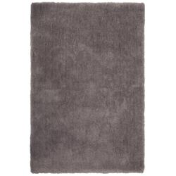 Weicher Mikrofaserteppich - Paradise (Grau; 80 x 150 cm)