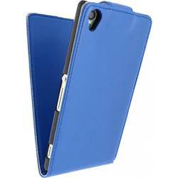 Sony Xperia Z3 Hülle Xccess Blau Flipcase