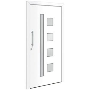 RORO Türen & Fenster Haustür Otto 12, BxH: 110x210 cm, weiß, ohne Griff