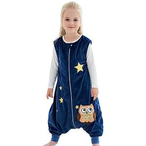 RYTEJFES Baby Winter Schlafsack mit füßen, Schlafsachen Baby Junge Mädchen Flanell Warm Schlummersack Babyschlafsack Kinderchlafsack mit Beinen Overall Schlafanzug
