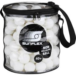 Sunflex Tischtennisball weiß Tischtennis-Ausrüstung Tischtennis Sportarten