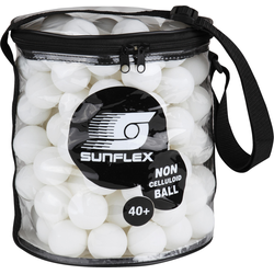 Sunflex Tischtennisball weiß Schuhe Tischtennis Sportarten Bälle Unisex