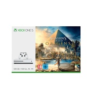 Microsoft Xbox One S 500GB weiß + Assassin's Creed: Origins (Bundle)