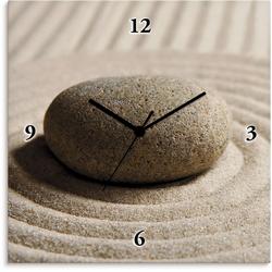 Wanduhr »Mini Zen Garten - Sand«, Wanduhren, 38615701-0 beige beige