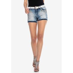 Cipo & Baxx Shorts im ausgefallenen Look 28