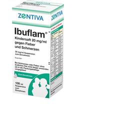 Ibuflam Kindersaft 2% gg.Fieber u.Schmerzen Susp.