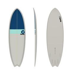 Torq Epoxy TET Fish Classic Surfboard Wellenreiter, Größe: 5'11''