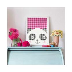Dot On Malvorlage dot on art kids - panda, 30 x 40 cm