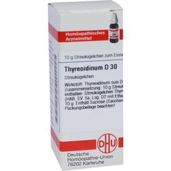 THYREOIDINUM D 30 Globuli