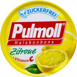 PULMOLL Hustenbonbons Zitrone m.Vit.C zuckerfrei 50 g
