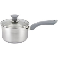 Michelino Sieltopf Edelstahl mit Soft Touch-Griff,