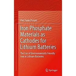 Iron Phosphate Materials as Cathodes for Lithium Batteries. Pier Paolo Prosini  - Buch