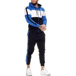 OneRedox Jogginganzug Herren Jogginganzug Trainingsanzug Sportanzug schwarz L